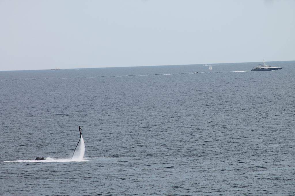 Les sports nautiques dans la baie