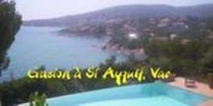 Villa avec piscine en location à St Aygulf, Var